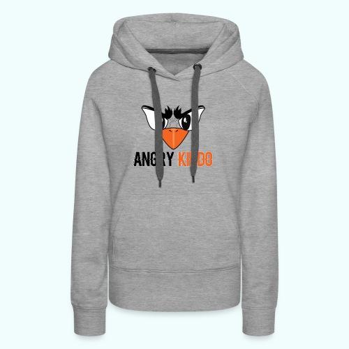 Angrykiddo - Sweat-shirt à capuche Premium pour femmes