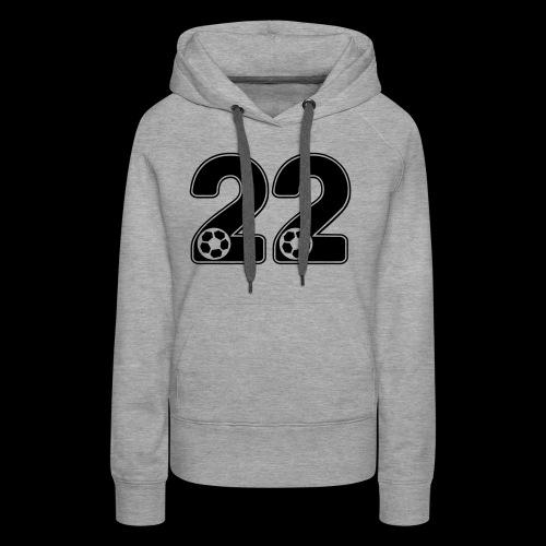 foot numero 22 - Women's Premium Hoodie