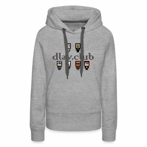 dlav.club staff team - Women's Premium Hoodie