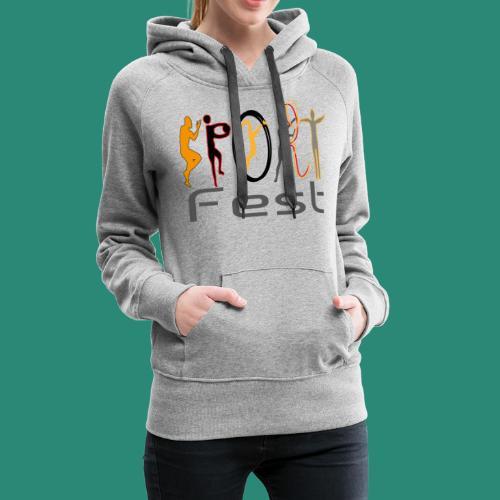 sportfest - Frauen Premium Hoodie