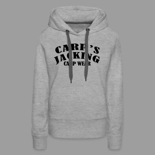 Carp's griffe CARP'S JACKING - Sweat-shirt à capuche Premium pour femmes