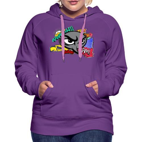 Comic's Strip - Sweat-shirt à capuche Premium pour femmes