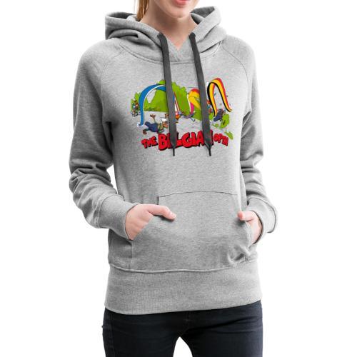 Belgian take off 2019 - Sweat-shirt à capuche Premium pour femmes