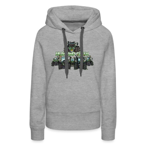 MeanAndGreen6F - Vrouwen Premium hoodie