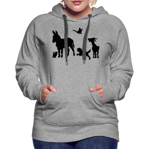 Logo - Tiere im Einklang - Frauen Premium Hoodie