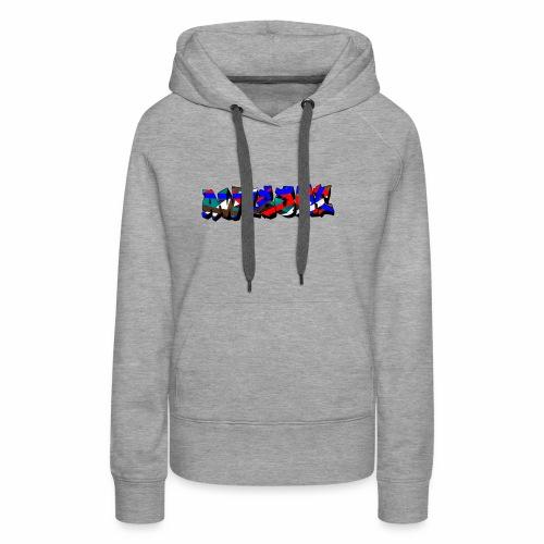 awesome street - Vrouwen Premium hoodie