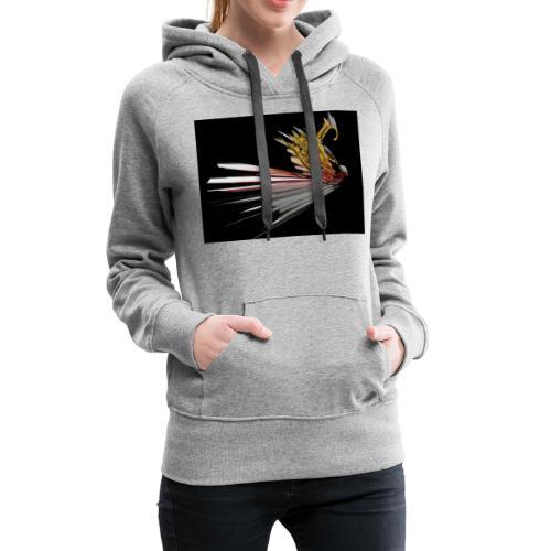 Abstract Bird - Women's Premium Hoodie