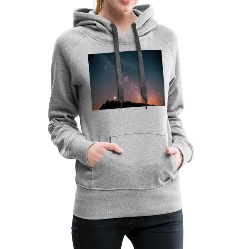Milchstraße Fotografie Galaktisches Zentrum - Frauen Premium Hoodie