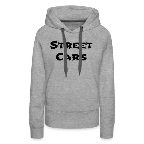 Street Cars 2 - Vrouwen Premium hoodie