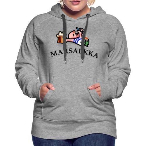 marsalkka - Naisten premium-huppari