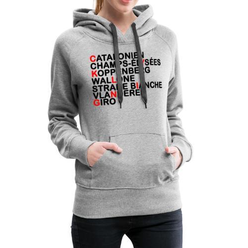 CYKLING - Dame Premium hættetrøje