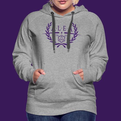 ALEA Logo Purple - Frauen Premium Hoodie