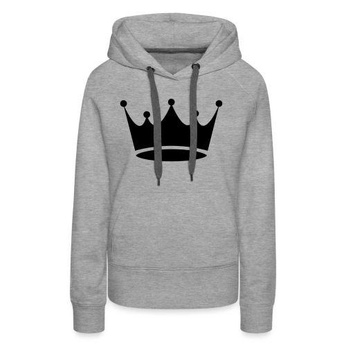 Crown sweat - Sweat-shirt à capuche Premium pour femmes