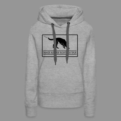 Fährtenhund - Frauen Premium Hoodie