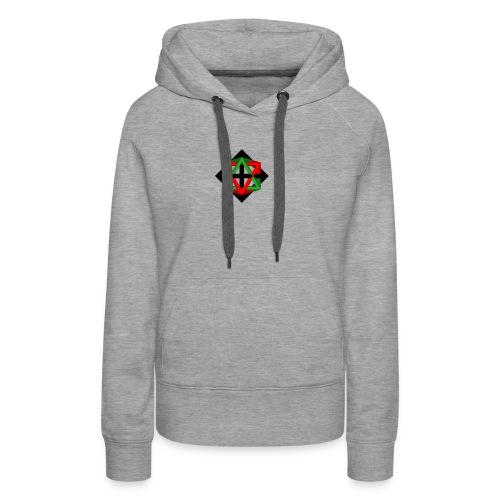 star octahedron series geommatrix - Women's Premium Hoodie