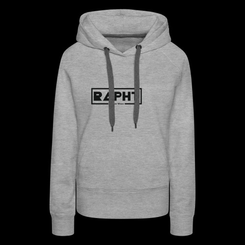 RAPHT long-sleeve simple - Women's Premium Hoodie