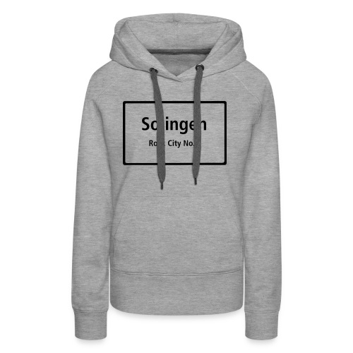 Solingen Rock City No.1 - Frauen Premium Hoodie