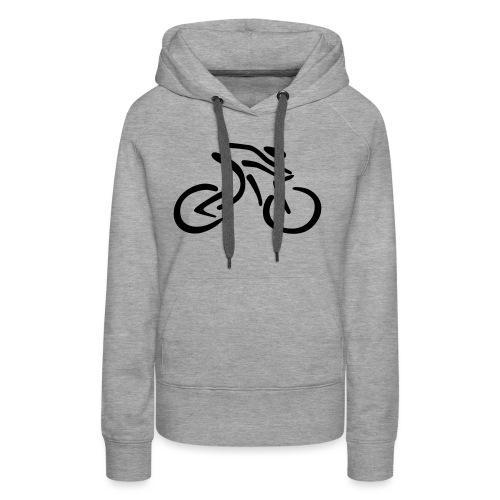 fietsen - Vrouwen Premium hoodie