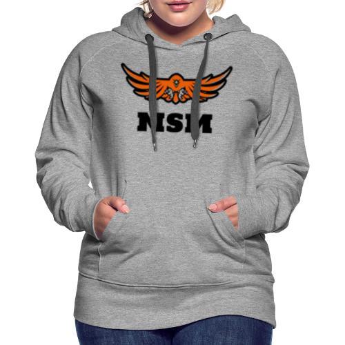 MSM EAGLE - Dame Premium hættetrøje