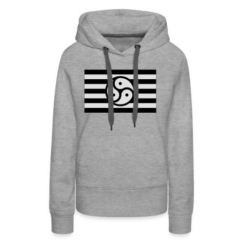 Frauen/Herrinnen T-Shirt BDSM Flagge SW - Frauen Premium Hoodie