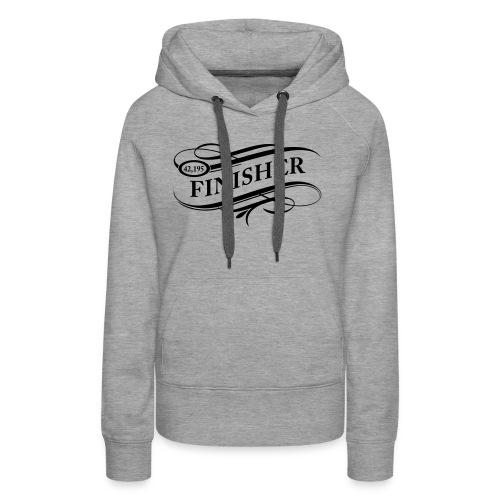 Finisher2 Personnalisable - Sweat-shirt à capuche Premium pour femmes