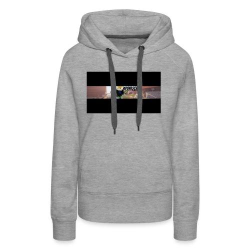 YouTube Banner DominikPlay png - Frauen Premium Hoodie