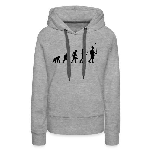 Stabführer Evolution - Frauen Premium Hoodie