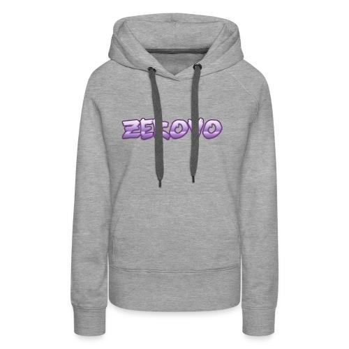 zerovomerchandise - Vrouwen Premium hoodie