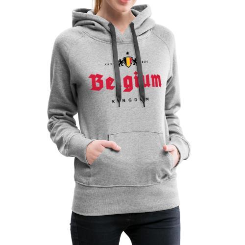Bierre Belgique - Belgium - Belgie - Sweat-shirt à capuche Premium pour femmes