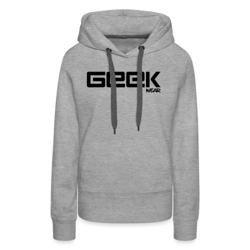 GeekWear_Logo - Vrouwen Premium hoodie