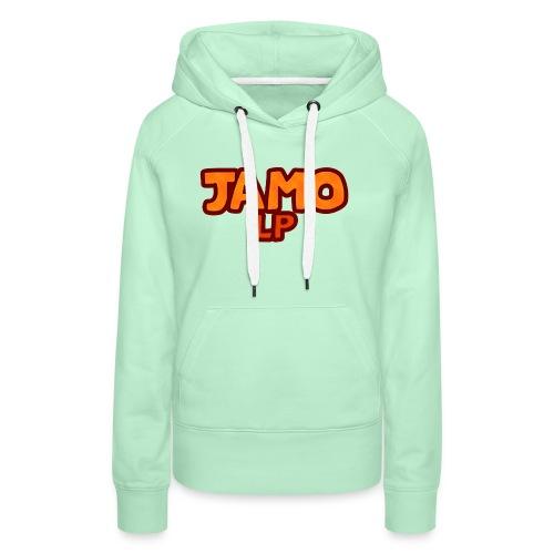 JAMOLP Logo T-shirt - Dame Premium hættetrøje