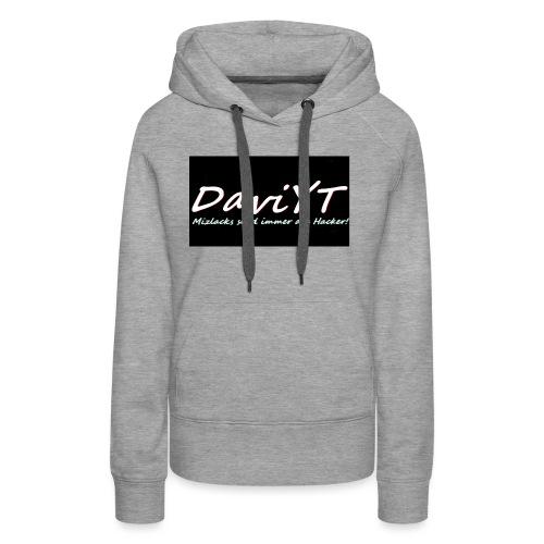 DaviYT Merch - Frauen Premium Hoodie