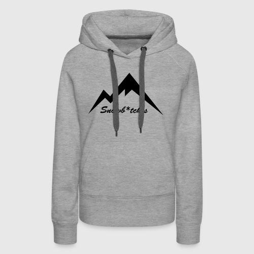 Mountains Logo (W) - Women's Premium Hoodie
