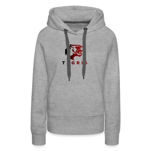 TYGRIS E-SPORT - Sweat-shirt à capuche Premium pour femmes