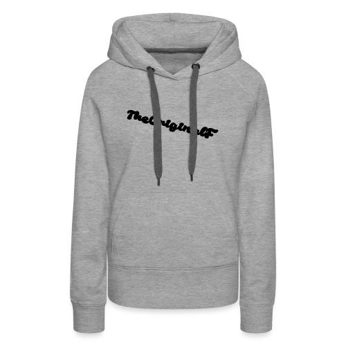 TheOriginalF - Frauen Premium Hoodie