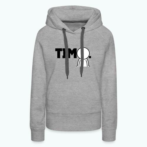 Design met ventje - Vrouwen Premium hoodie