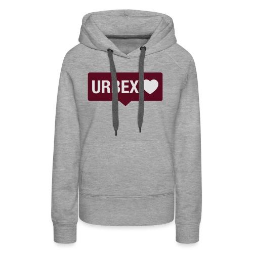 URBEX-Herz-Insta-Bubble - Frauen Premium Hoodie