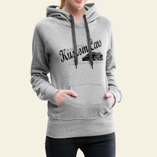 lead sled - Dame Premium hættetrøje