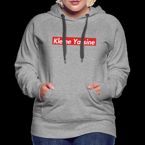 Kleine Yassine (''Spreme'' Namaak) - Vrouwen Premium hoodie