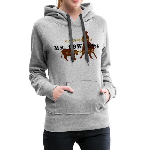 (mr_cowsense_neu) - Frauen Premium Hoodie
