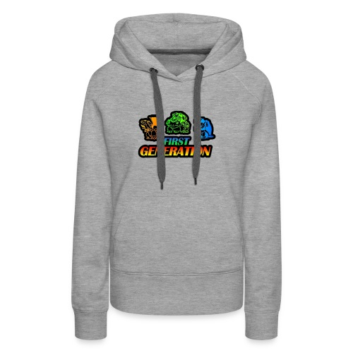 Collection Pocket Monster First Generation !!! - Sweat-shirt à capuche Premium pour femmes