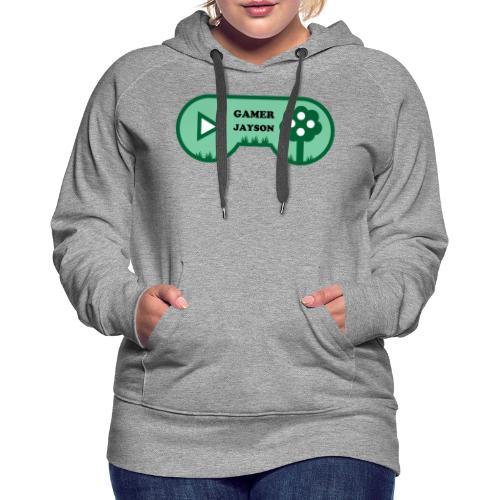 Joueur Jayson - Sweat-shirt à capuche Premium pour femmes