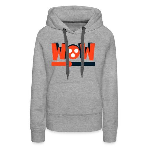 wowmovies - Sudadera con capucha premium para mujer