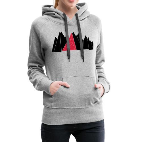 T-Shirt Mountains - Frauen Premium Hoodie