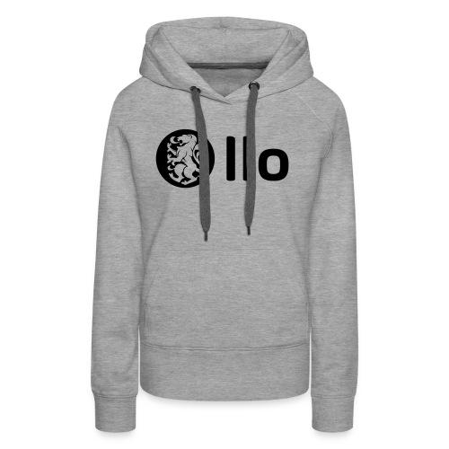 LLO 2018 V2 AVEC LLO - Sweat-shirt à capuche Premium pour femmes