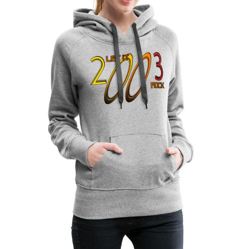 Let it Rock 2003 - Frauen Premium Hoodie