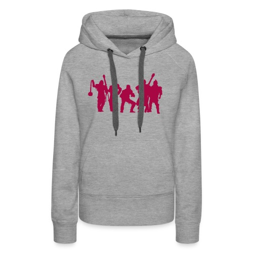 Jugger Schattenspieler rot - Frauen Premium Hoodie