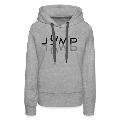 Jump - Sweat-shirt à capuche Premium pour femmes