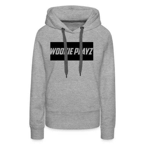 WOOKIE PLAYz HOODIE - Women's Premium Hoodie
