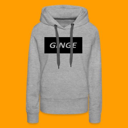 GINGE LOGO - Women's Premium Hoodie